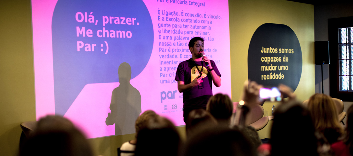 Brand launch event with schools from all over Brazil