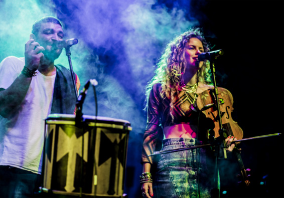 Lenis Rino and Luê concert, Aymoré Moments
