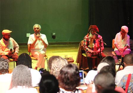 Seminar with Mestre Avelino, Gilberto Gil, Bule Bule and Dona Dalva
