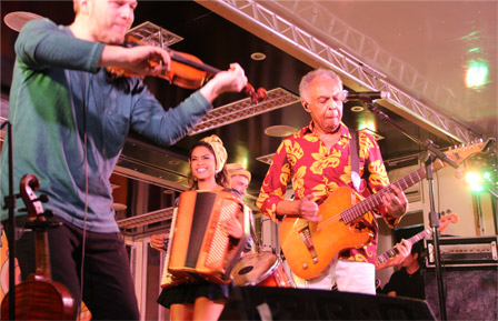 Festival of St. John  Cordestinos Gilberto Gil and Lucy Alves concert