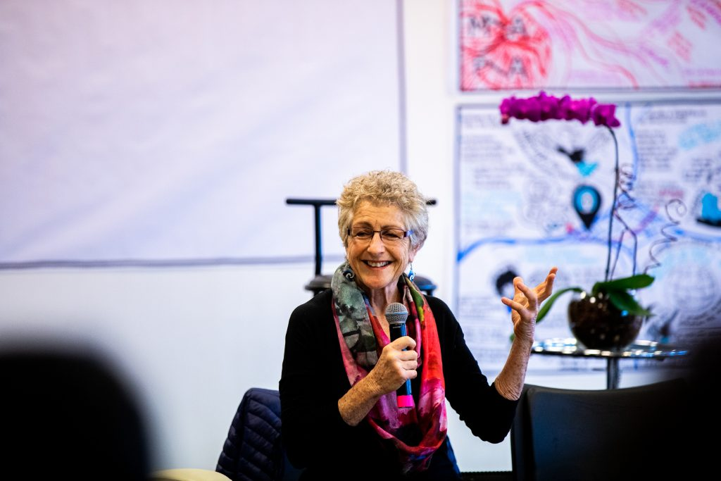 Marian Goodman, from the Presencing Institute/MIT, jorney facilitator