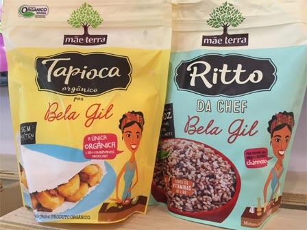 Tapioca Orgânica e Ritto da Chef  por Bela Gil