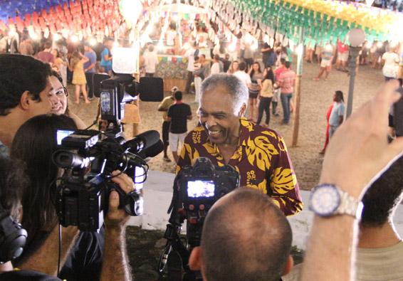 Festa de São João com show de Gilberto Gil