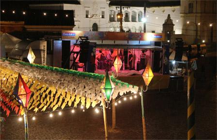 Palco do Festival São João