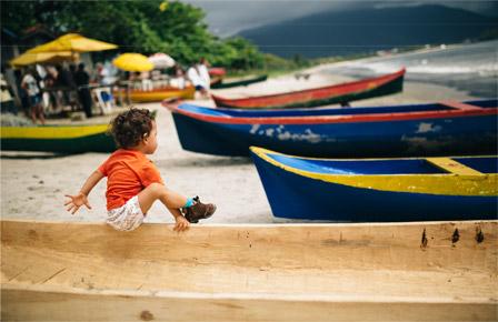 PreparaçÃo para a corrida das Canoas